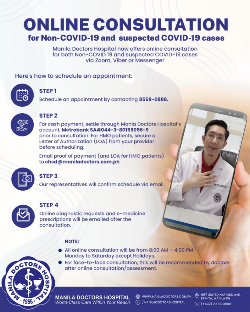Teleconsultation for Non-COVID-19 and COVID-19 Suspect Cases